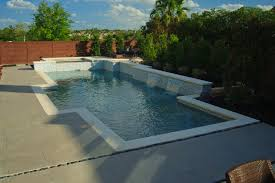 geometric pool design houston pool builder