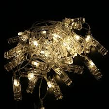 4m clip string lights battery operated indoor decorative 30 led