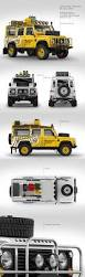 land rover defender land rover defender mockup pack in vehicle mockups on yellow