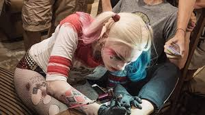 harley quinn official temporary tattoo set bad kitty apparel