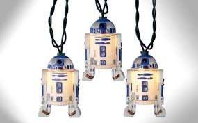 wars christmas decorations r2d2 wars christmas lights