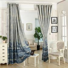 Sears Custom Window Treatments by Pureaqu Sea Sailing Boat Curtains For Kids Bedding Room Curtain