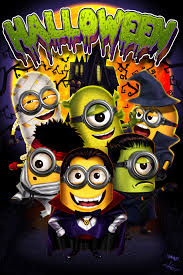 minions on halloween by victter le fou deviantart com on