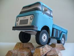 jeep fc 150 found on the web a bunch of nice papercruiser model builds