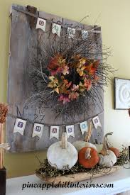 thanksgiving mantel october 2012 pineapple hill interiors