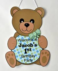 teddy decorations teddy baby shower or birthday party decorations