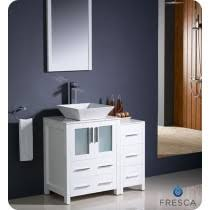 36 Inch Bathroom Vanity White Single Bathroom Vanities From 36 To 48 Inches Wide