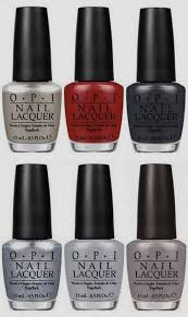 o p i 50 shades of grey nail polish box