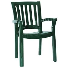 Green Plastic Patio Chairs Outdoor Plastic Stacking Chairs Doors Shop Mfg Corp