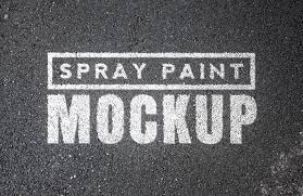 Font Spray Paint - spray paint mockups vol 1 u2014 medialoot