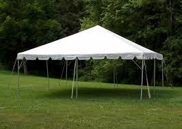 white tent rental tents white 20 x 20 partyonstillwater