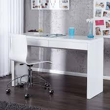 Schreibtisch 140 Cm Breit Schreibtische Weiß Hochglanz