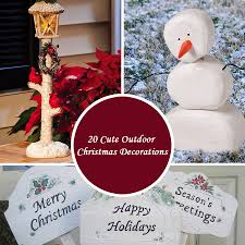 Outdoor Christmas Decoration by 20 Cute Outdoor Christmas Decorations 0 Jpg
