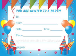 why i like making birthday party invitations free free templates