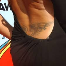 taraji p henson wings lower back style