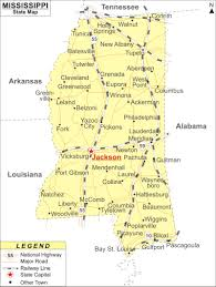 Mississippi Map Usa by Mississippi Map Jpg