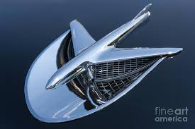 1956 buick special ornament photograph by clarence