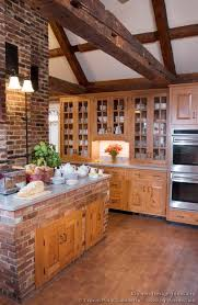 rustic kitchens designs kitchen kitchen cabinets traditional light wood rustic ceiling