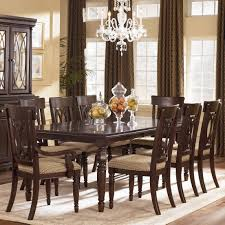 9 Pc Dining Room Sets Delightful Decoration 9 Piece Dining Table Set Plush Design Piece