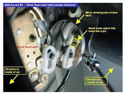 honda civic latch 2000 accord coupe driver door locked up need help honda tech