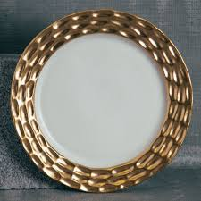 truro gold dinnerware relish decor