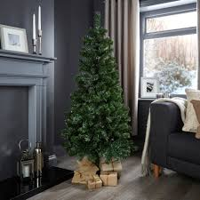 5ft woodland classic christmas tree departments diy at b u0026q