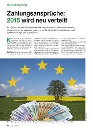 zahlungsansprüche landwirtschaft zahlungsansprüche 2015 wird neu verteilt top agrar