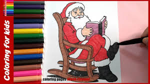 santa claus printable coloring pages christmas coloring books