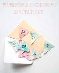 Diy Invitations One Charming Party Birthday Party Ideas U203a Watercolor Invitation Diy