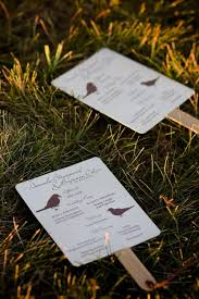 fan wedding programs template fan wedding programs diy wedding ideas