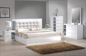 White Leather Bedroom Furniture White Leather Bedroom Set Home Furniture Design