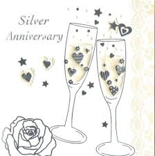 silver wedding invitations cards in packs of 5 party wizard