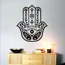 wall ideas instant digital watercolor print buddha hamsa hand