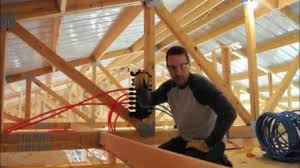 how to install a pex tubing and manifold system diy plumbing tips