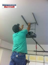 how do you install a garage door opener retail versus professional model garage door openers