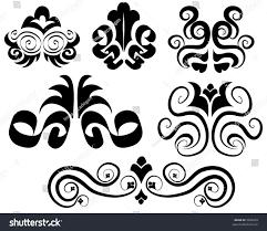 vector ornamental design elements stock vector 3836239