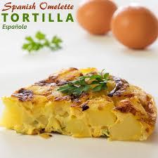 Potatoes As Main Dish - spanish omelet tortilla española recipe happyfoods tube