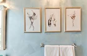 diy bathroom wall art  edgelivingclub