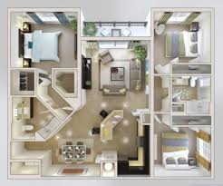 download spectacular idea three bedroom house talanghome co pretentious design three bedroom house 3 home design plans pictures best creativejpg