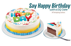 there u0027s ice cream cake then there u0027s dq cakes w dq soft serve