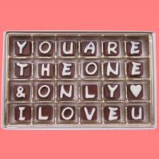 Birthday Love Letters For Her You Are The Only And Only I Love You Cubic By What Candy Says On