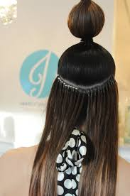 All About Hair Extensions by Weft Micro Bead Hair Extensions Om Hair