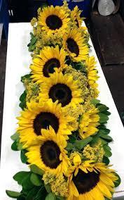 sunflower wedding centerpieces weddings table flowers decor