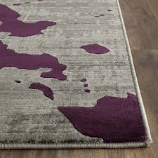 Black And Purple Area Rugs 56 Most Fab Grey And Purple Area Rug Roselawnlutheran For Rugs