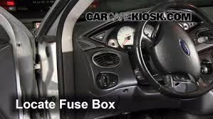 interior fuse box location 2000 2004 ford focus 2002 ford focus