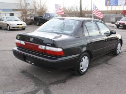toyota corolla all 1997 toyota corolla 1997 black sedan dx gasoline 4 cylinders front