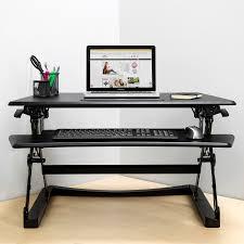 Pc Schreibtisch Mit Aufsatz Sitz Steh Schreibtisch Aufsatz Höhenverstellbar Ergonomisch Groß