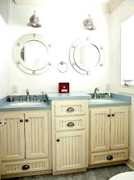 Beachy Bathroom Mirrors Nautical Bathroom Mirror Interesting Hanging Mirror Bathroom