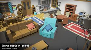 House Interiors Simple House Interiors By Synty Studios In Environments Ue4