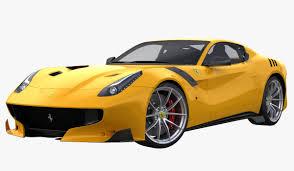 Ferrari F12 2016 - tdf 2016 3d max